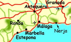 Map - Eastern Costa del Sol